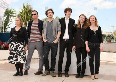 'Chatroom' Photocall at the Festival De Palais During the 63rd Cannes Film Festival Laura Hastings-smith Enda Walsh Aaron Johnson Matthew Beard Hannah Murray and Imogen Poots