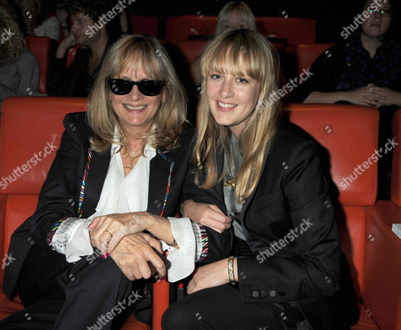 Screening of 'Coco Before Chanel' at the Charlotte Street Hotel Charlotte Street London Twiggy with Her Daughter Carly Lawson