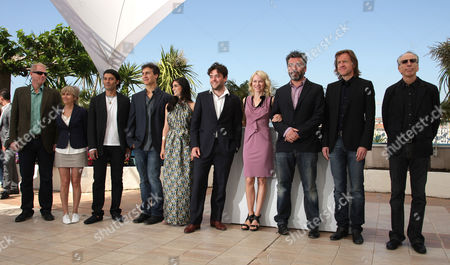 Stock Photo of 'Fair Game' Photocall at the Festival De Palais During the 63rd Cannes Film Festival Noah Emmerich Khaled Nabawy Doug Liman Liraz Charhi John-henry Butterworth Naomi Watts Jez Butterworth Bill Pohlad and Jerry Zucker