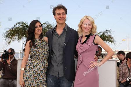 'Fair Game' Photocall at the Festival De Palais During the 63rd Cannes Film Festival Liraz Charhi Doug Liman and Naomi Watts
