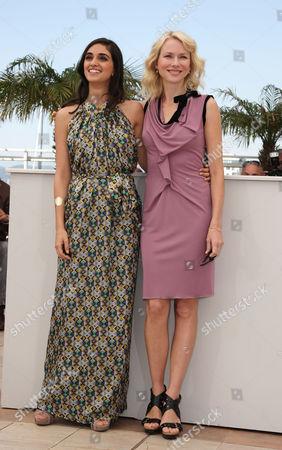 'Fair Game' Photocall at the Festival De Palais During the 63rd Cannes Film Festival Liraz Charhi and Naomi Watts