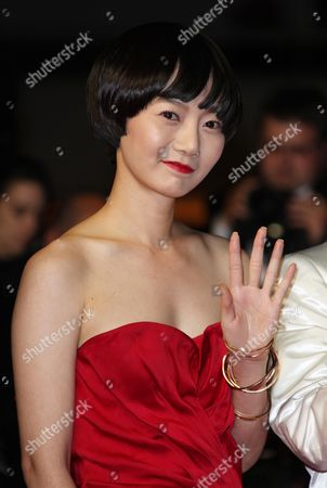 'Fishtank' Red Carpet at the 62nd Cannes Film Festival Bae Doo-na