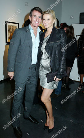 'Herb Ritts by Herb Ritts' Private View at Hamiltons Gallery Carlos Place Tim Jefferies with His Wife Malin Johansson Who is Pregnant with Their Second Child