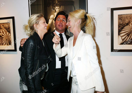 'Herb Ritts by Herb Ritts' Private View at Hamiltons Gallery Carlos Place Malin Johansson Giorgio Veroni and Tamara Beckwith