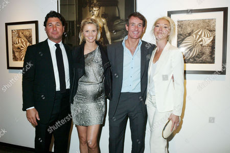'Herb Ritts by Herb Ritts' Private View at Hamiltons Gallery Carlos Place Giorgio Veroni Malin Johansson Tim Jefferies and Tamara Beckwith