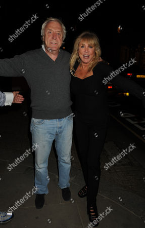 Private View at the Little Black Gallery Park Walk London of 'I Want It All' an Exhibition of Photographs of Film Stars Rock Legends Cooks and Queens Sir Frank Lowe & Patti Boyd