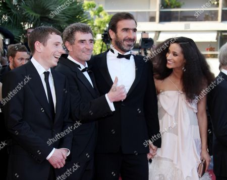 'Looking For Eric' Red Carpet at the 62nd Cannes Film Festival Gerard Kearns Steve Evets Eric Cantona and Rachida Brakni