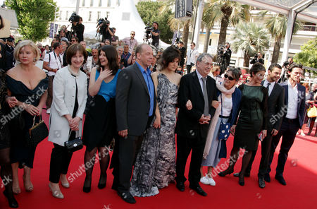 'Tamara Drewe' Red Carpet at the Festival De Palais During the 63rd Cannes Film Festival Alison Owen Posy Simmonds Moira Buffini Bill Camp Lola Frears Stephen Frears Anne Rothenstein Tamsin Greig Dominic Cooper and Luke Evans