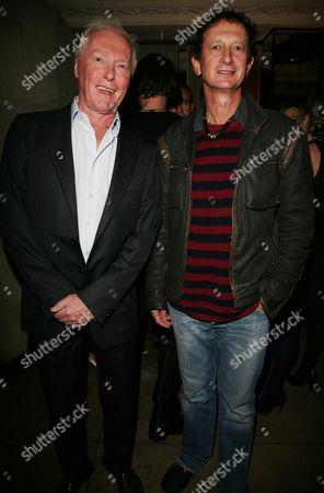 'The Sea' Press Night at the Theatre Royal Haymarket Afterparty at Embassy Club Mayfair Nicholas Wright and David Lan