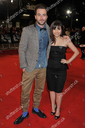 'The Woman in Black' World Premiere at the Royal Festival Hall Southbank Darren Mcmullen and Roxanne Pallett