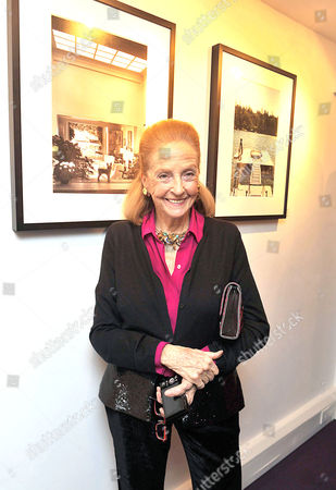 Stock Image of 'A Photographic Journey Private View' Private View at the Little Black Gallery Doris Brynner