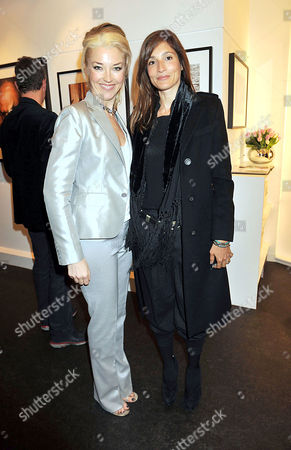'A Photographic Journey Private View' Private View at the Little Black Gallery Tamara Beckwith and Astrid Munoz