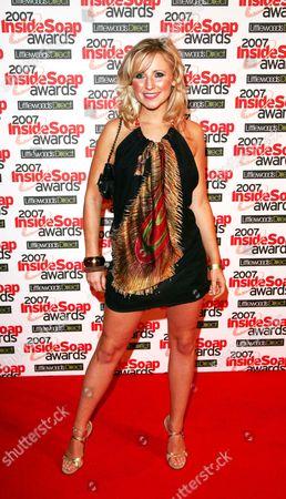Stock Photo of the 2007 Inside Soap Awards at Gilgamesh Chalk Farm Carly Stenson