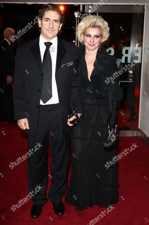 2009 Royal Film Performance and World Premiere of 'The Lovely Bones' in Aid of the Cinema & Television Benevolent Fund at the Odeon Leicester Square Michael Imperioli with His Wife Victoria Chlebowski