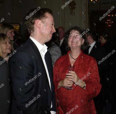 2009 Tatler Restaurant Awards at the Mandarin Oriental Hotel Knightsbridge Geordie Greig and Fay Maschler