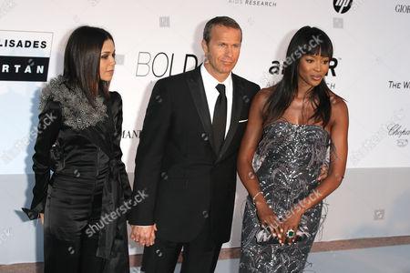 2010 Amfar Arrivals at the Hotel Du Cap During the 63rd Cannes Film Festival Kidada Jones Vladimir Doronin and Naomi Campbell