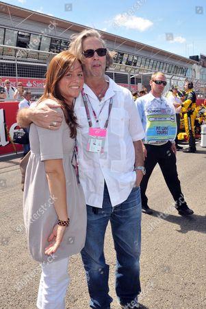 Editorial photo of 2010 Formula 1 Santander British Grand Prix at Silverstone - Race Day - 11 Jul 2010