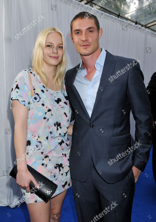 Glamour Women of the Year Awards Arrivals at Berkeley Square Gardens Annabelle Horsey with Her Boyfriend Max Brown