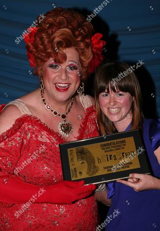 Editorial image of 500,000th Ticket is Sold For 'Hairspray' - 04 Sep 2008