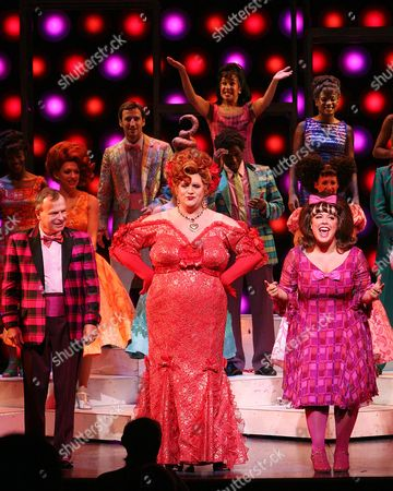 Editorial picture of 500,000th Ticket is Sold For 'Hairspray' - 04 Sep 2008