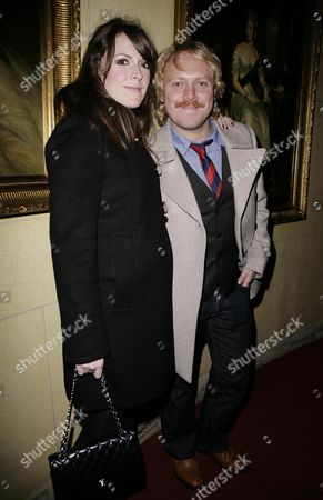 52nd Times Bfi London Film Festival Gala Afterparty For 'W' at 1 Whitehall Leigh Francis (avid Merrion) with His Wife Jill Carter