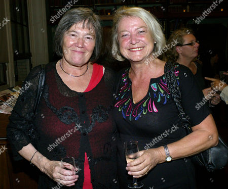 60th Anniversary of the Times Cheltenham Literature Festival St James's Square Clare Short Mp and Kate Adie