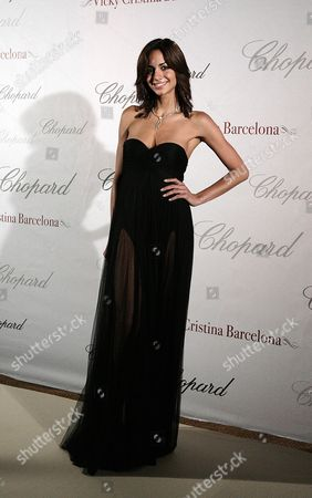 Stock Image of 61st Cannes Film Festival - Chopard Host Afterparty For 'Vicky Cristina Barcelona' at 3 14 Beach Club Valerie Dominguez