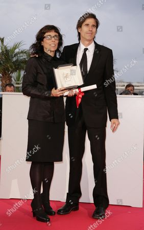 61st Cannes Film Festival - Arrivals For the Palm D'or Award Ceremony Director Walter Salles and Daniela Thomas Who Accepted the Best Acttress Award On Behalf of Sandra Corveloni in Their Film 'Linha De Passe'