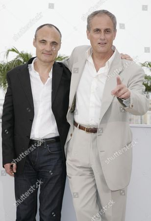 61st Cannes Film Festival - Photocall For 'C'est Dur D'etre Aime Par Des Cons' (it's Hard Be Liked by Idiots) Philippe Val and Daniel Leconte