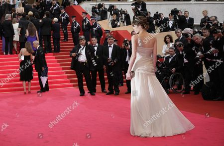 Stock Image of 61st Cannes Film Festival - Red Carpet Arrivals For 'The Palermo Shooting' Lou Dillon