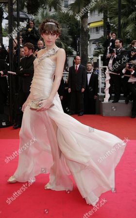 Stock Picture of 61st Cannes Film Festival - Red Carpet Arrivals For 'The Palermo Shooting' Lou Dillon