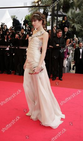 61st Cannes Film Festival - Red Carpet Arrivals For 'The Palermo Shooting' Lou Dillon
