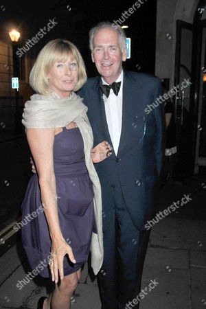 70th Birthday Celebration at Wheelers of St James St James Street Mayfair Thomas Alexander Fermor-hesketh 3rd Baron Hesketh with His Wife Claire