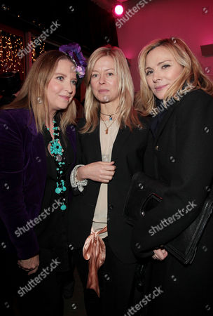 A Celebration Gala Evening 'Shakespeare's Women' at the Almeida Theatre Katrine Boorman Lady Helen Taylor and Kim Cattrall
