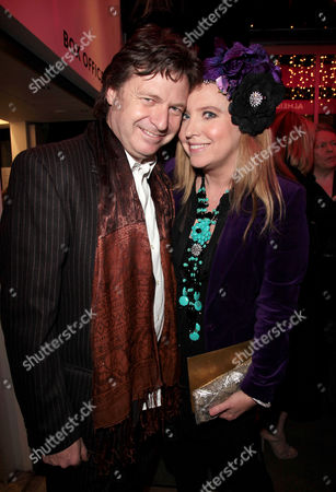A Celebration Gala Evening 'Shakespeare's Women' at the Almeida Theatre Danny Moynihan with His Wife Katrine Boorman