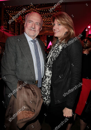 A Celebration Gala Evening 'Shakespeare's Women' at the Almeida Theatre Claus Von Bulow with His Daughter Countess Cosima Pavoncelli (von Bulow)