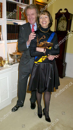 A Party Given by Basia and Richard Briggs For the Joint Birthdays of Lady Catherine Meyer & Matthew Steeples at Their Home in Chelsea London Sir Christopher Meyer & Lady Catherine Meyer