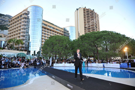 Amber Lounge Fashion Show and Auction at Le Meridien Beach Plaza Monaco Jake Humphries