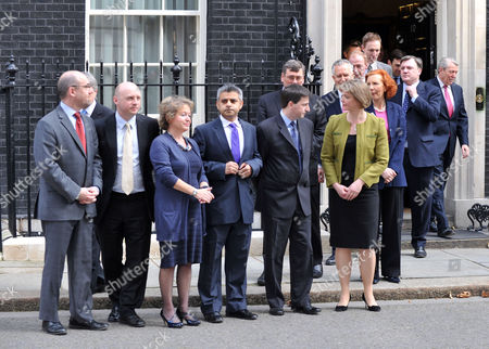 Announcement of the Date of the General Election in Downing Street Jim Knight Mp Liam Byrne Mp Rosie Winterton Mp Sadiq Khan Mp Douglas Alexander Mp Yvette Cooper Mp