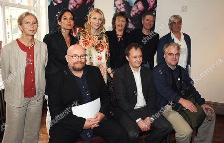 Announcing the Alliance of the Sydney Theatre Company Labyrinth Theatre Company [lab] From New York and Trafalgar Studios at the Century Club Meryl Faiers Tali Pelman Cate Blanchett Rosemary Squire Rob Brookman Howard Panter Andrew Upton and Phillip Seymour-hoffman
