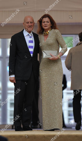 Ark 2012 Dinner at Kensington Gardens Lord Norman and Lady Elena Foster
