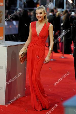 Bafta Film Awards Outside Arrivals at the Royal Opera House Covent Garden Jade Farmiloe