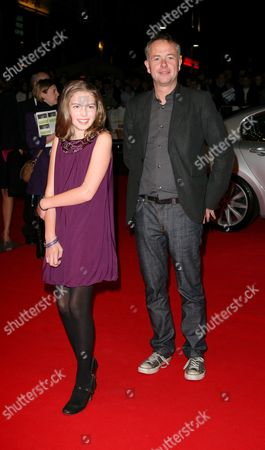 Bfi London Film Festival Mayoral Gala with the Uk Premiere of 'Genova' at the Odeon Westend Perla Haney Jardine and Michael Winterbottom