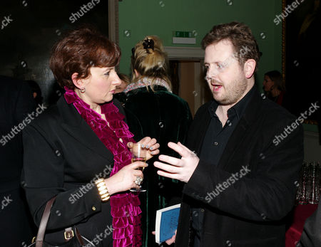 Book Launch Party For 'The Queen Must Die Chronicles of the Tempus' at the Foundling Museum Brunswick Square Julia Hobsbawm and Matthew D'ancona