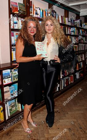 Book Launch Party For 'Things Your Mother Never Told You' by Olivia Lichtenstein at Daunt Books Marylebone Olivia Lichtenstein with Her Daughter Francesca Humphries