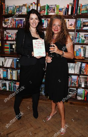 Book Launch Party For 'Things Your Mother Never Told You' by Olivia Lichtenstein at Daunt Books Marylebone Nigella Lawson with Olivia Lichtenstein
