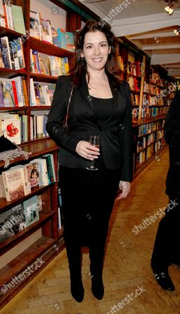 Book Launch Party For 'Things Your Mother Never Told You' at Daunt Books Marylebone Nigella Lawson