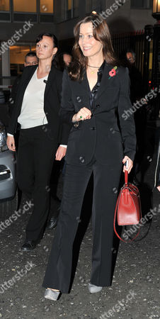 Yelena Gorbunova Leaves After Appearing at the High Court at the Rolls Building Holborn