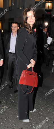 Stock Picture of Yelena Gorbunova Leaves After Appearing at the High Court at the Rolls Building Holborn