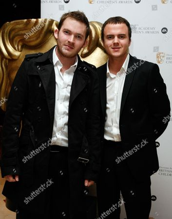 British Academy Children's Awards at the Park Lane Hilton Matt Littler and Darren Jeffries